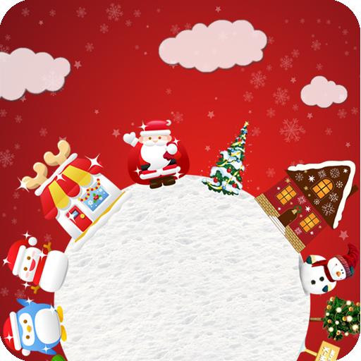 Whirl Christmas Live Wallpaper