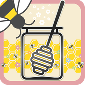 Honey Bees Live Wallpaper Free icon