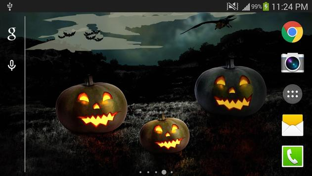Halloween Live Wallpaper PRO apk screenshot