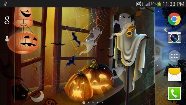 Halloween Live Wallpaper HD Apk Screenshot