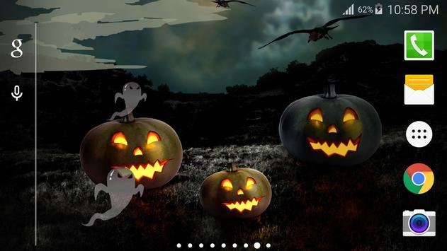 Halloween Party Live Wallpaper apk screenshot