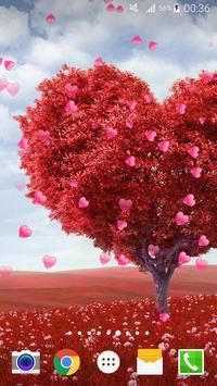 Valentine's day Live Wallpaper apk screenshot