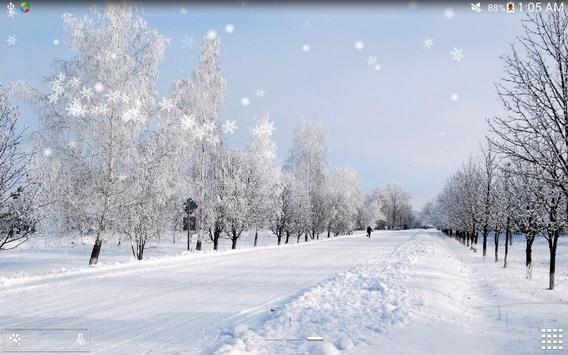 Winter Snow Live Wallpaper  HD apk screenshot