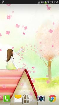Sakura Live Wallpaper PRO poster
