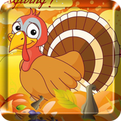 2017 Happy Thanksgiving Live Wallpaper icon