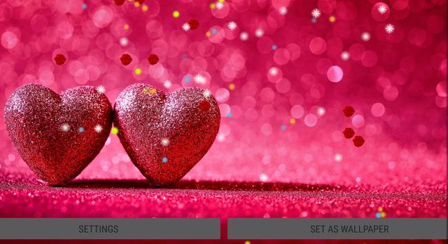 2018 Rose Valentine Most Beautiful Live Wallpaper Screenshot 4