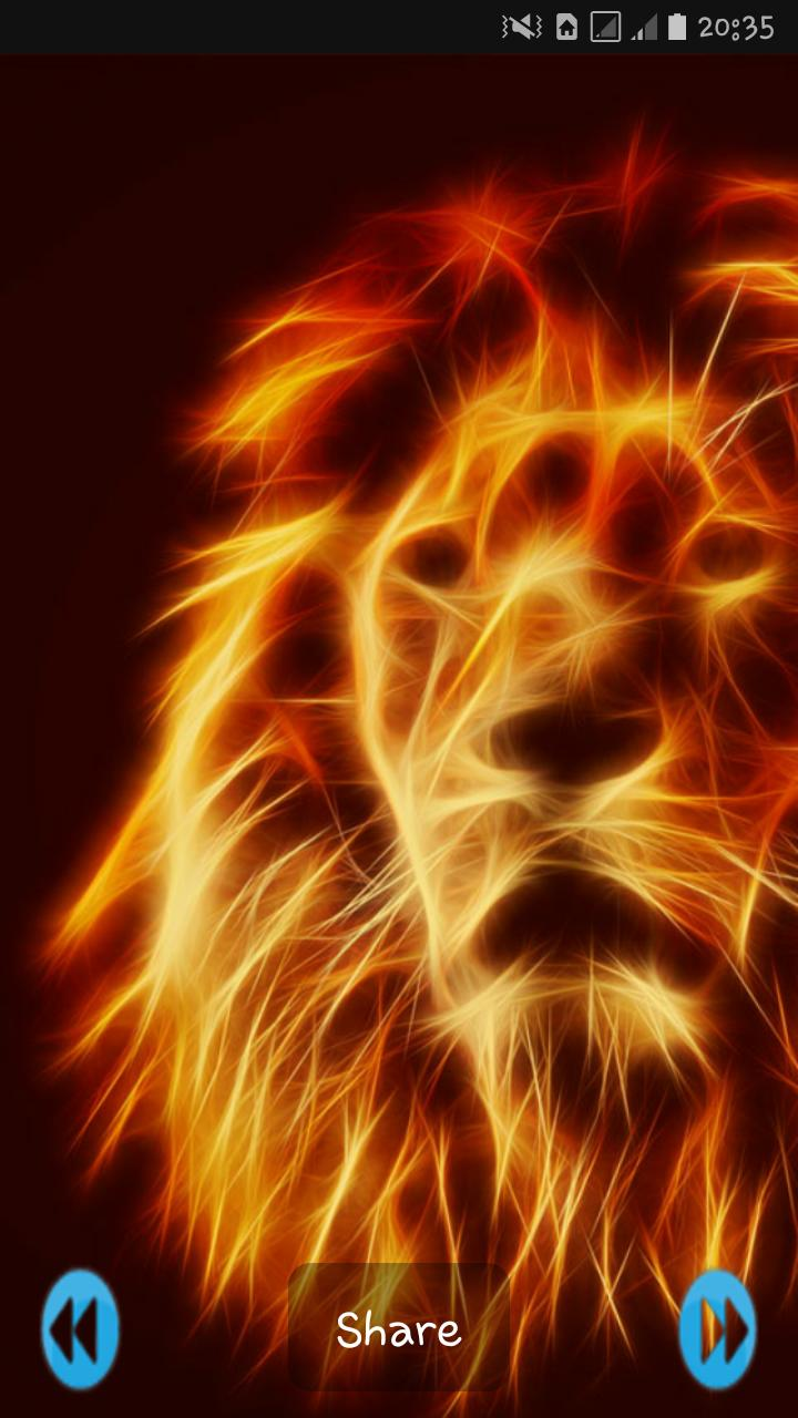 Fire Animals Wallpaper 4k For Android Apk Download