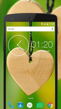 Free Romantic Heart Wallpaper apk screenshot