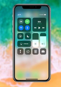 iPhone X wallpapers 4K- HD Launcher apk screenshot