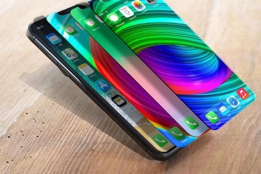 iPhone X wallpapers 4K- HD Launcher screenshot 9