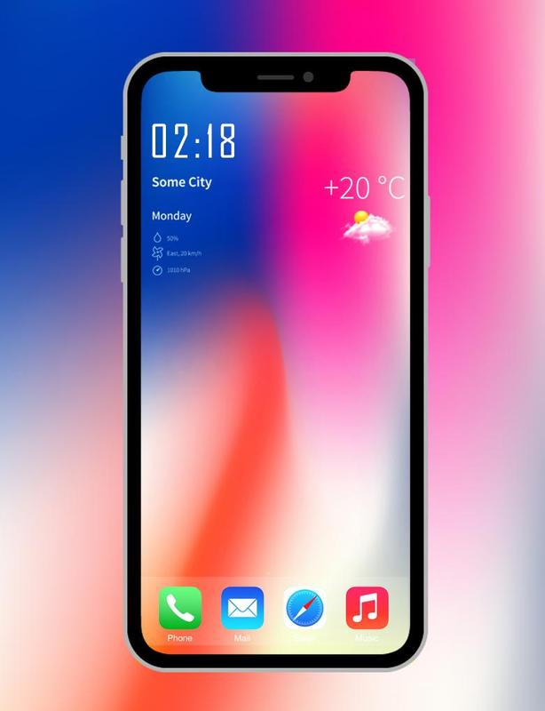 iPhone X wallpapers 4K- HD Launcher for Android - APK Download
