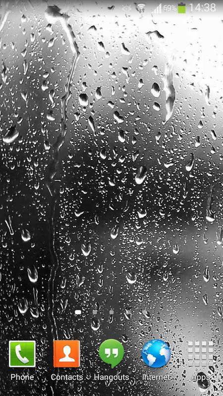 ... Raindrops Live Wallpaper HD 8 screenshot 4 ...
