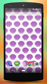 Seashell Wallpapers Patterns poster