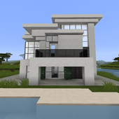 Wallpapers Minecraft house ideas icon
