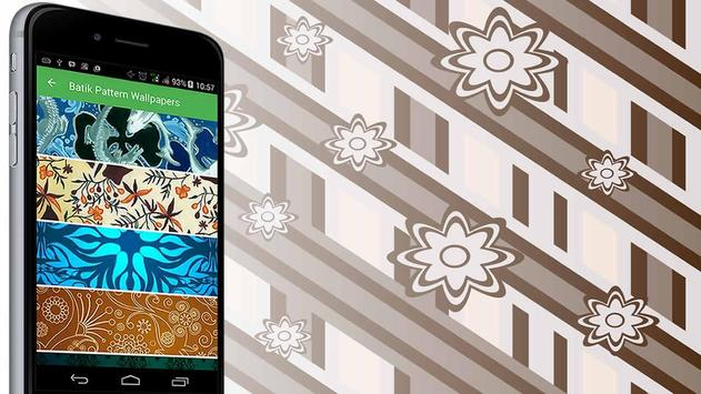 Batik Pattern Wallpaper poster