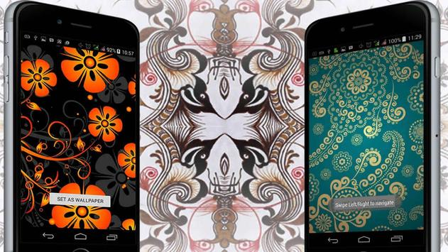 Batik Pattern Wallpaper apk screenshot