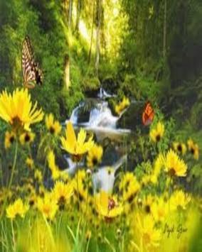 Natural Waterfalls Wallpaper apk screenshot
