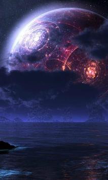 wallpaper planet poster