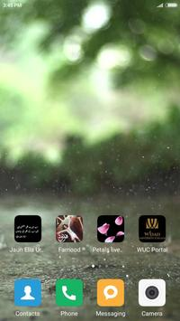 Rain live wallpaper screenshot 2