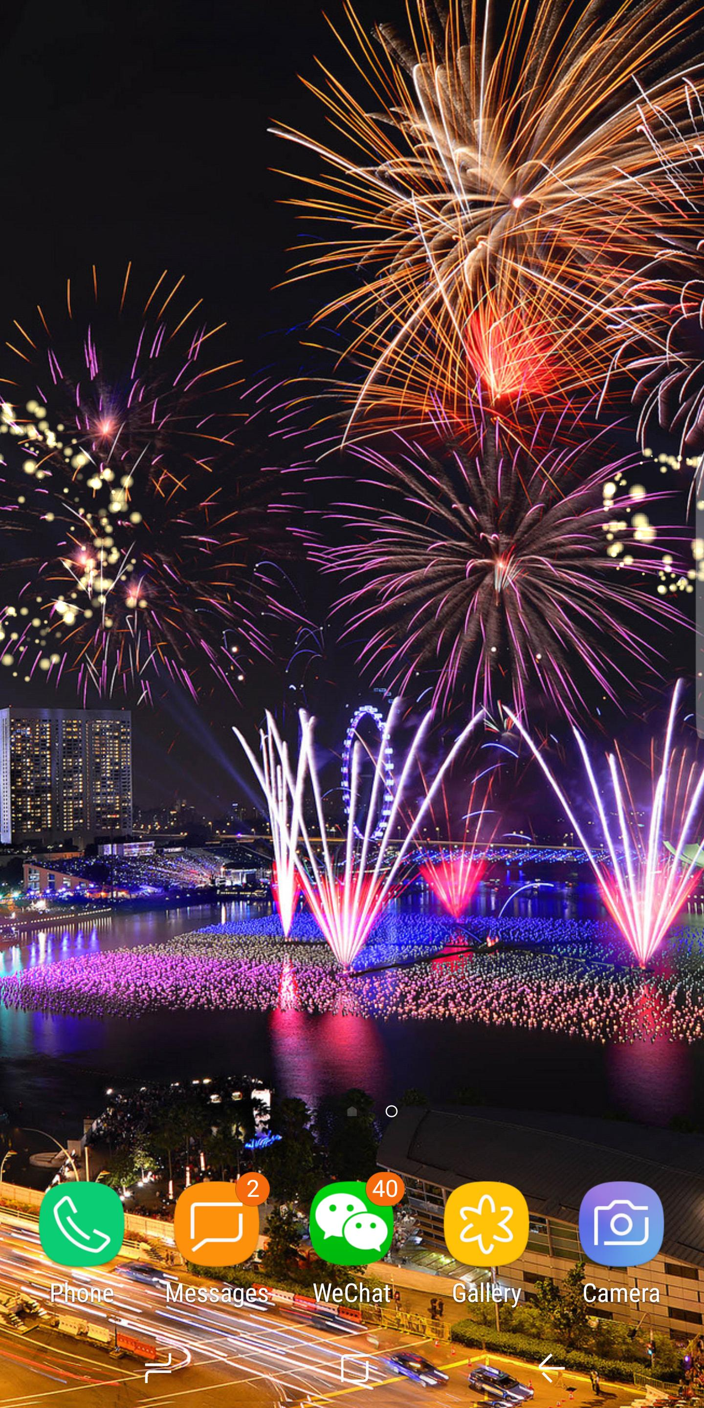 2020 New Year Fireworks Live Wallpaper Free for Android ...