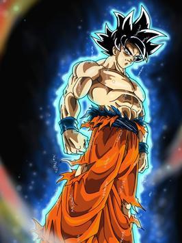 Wallpaper Super Goku Limit HD screenshot 5