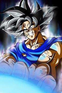 Wallpaper Super Goku Limit HD screenshot 7