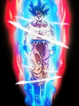 Wallpaper Super Goku Limit HD poster