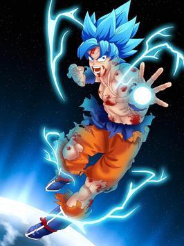 Wallpaper Super Goku Limit HD screenshot 3
