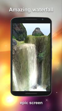 Waterfall Live Wallpaper 3D apk screenshot