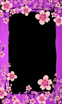 Photo Frame Sakura Flower poster