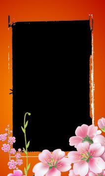 Photo Frame Sakura Flower apk screenshot