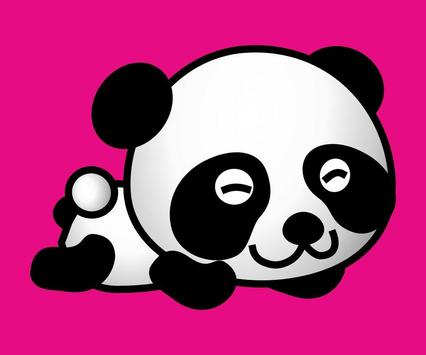 Cartoon Panda Wallpaper Apk Screenshot