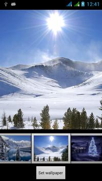 Winter Live HD Wallpapers apk screenshot