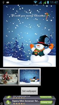Merry Christmas Live Wallpaper screenshot 6