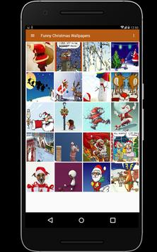Funny Christmas Wallpapers screenshot 9