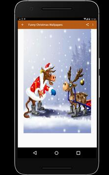 Funny Christmas Wallpapers screenshot 2