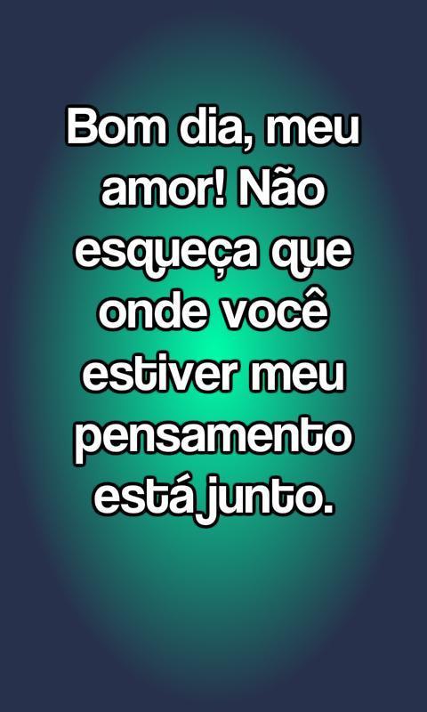 Frases De Bom Dia Meu Amor Pour Android Téléchargez Lapk