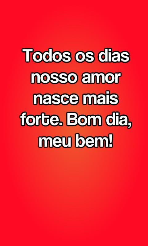 Frases De Bom Dia Meu Amor For Android Apk Download
