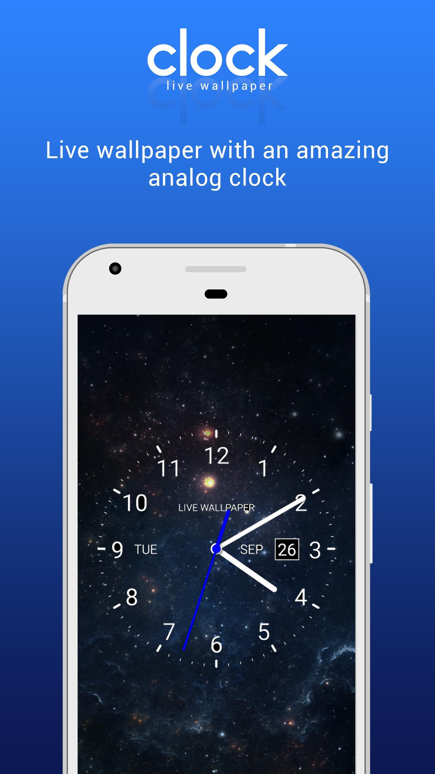 Analog Clock Live Wallpaper HD With Date And Time poster ...