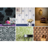 design wallpaper house wall icon