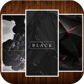 Black Wallpaper HD icon