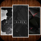 Black Wallpaper HD icon