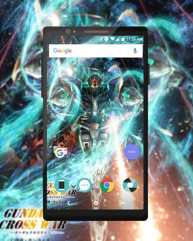 Gundam Iphone Wallpaper: Gundam Crosswar Wallpaper For Android