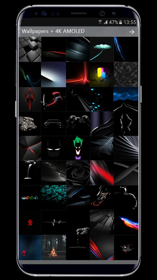 Amoled Wallpaper 4k Galaxy S9 S9 Plus For Android Apk Download