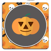 Cute Halloween wallpaper icon
