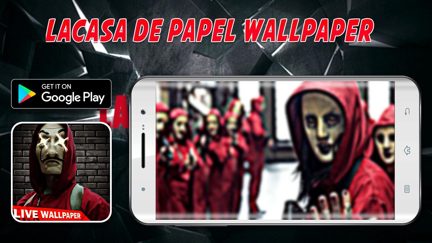 La Casa Fanart De Papel Wallpapers 4k For Android Apk Download