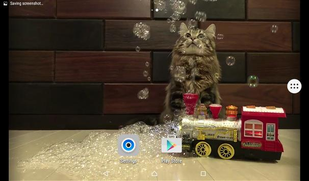 Cats & Bubbles Live Wallpaper screenshot 6