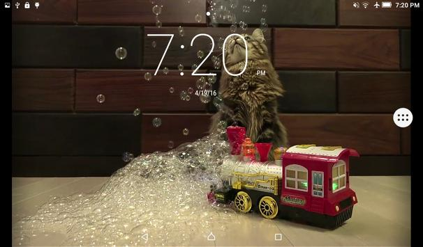 Cats & Bubbles Live Wallpaper screenshot 8