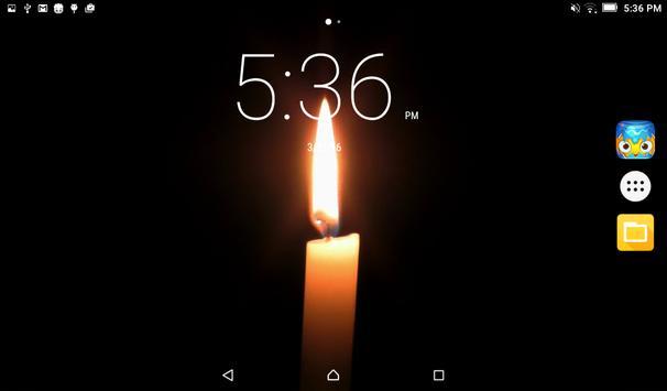 Candle Live Wallpaper apk screenshot