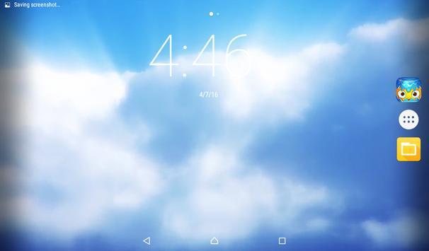 Passing Clouds Live Wallpaper apk screenshot